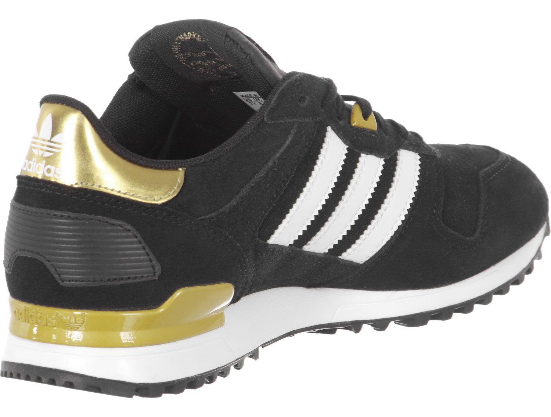 adidas sneakers zwart goud dames