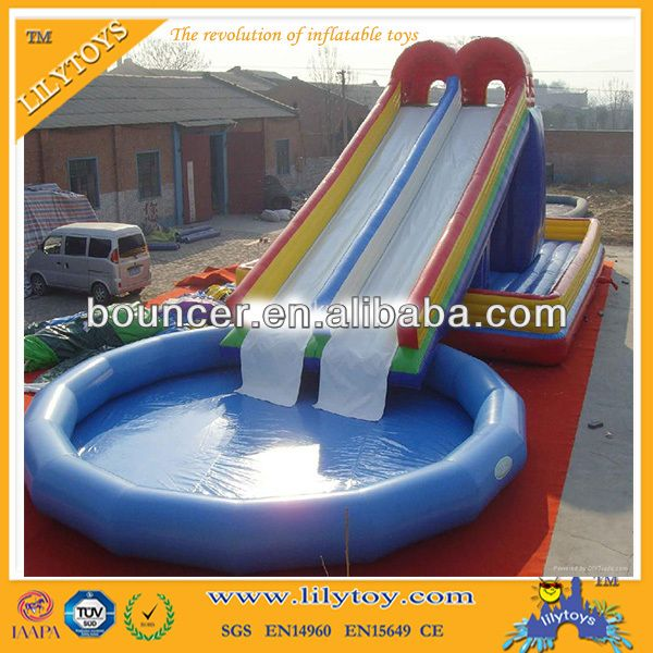 Cheap Inflatable Water Slides For Sale Inflatable Double Lane Slip Slide Used Water Slides For Sale 8 Swimming Pool Slides Inflatable Water Slide Water Slides
