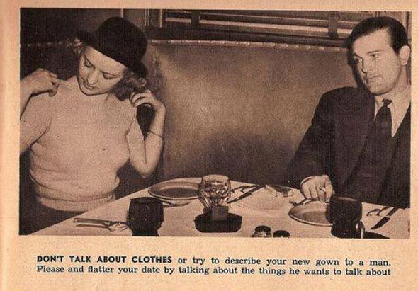Dating etiquette for women