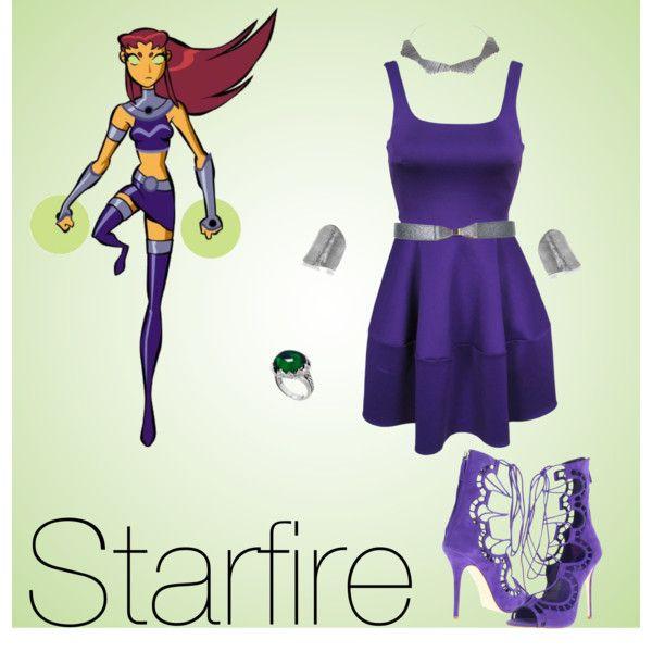 نتیجه تصویری برای starfire clothes
