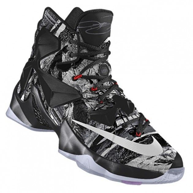 new styles 88364 7dd6c Fun With NIKEiD DX  Nike LeBron 13 Akronite Philosophy Graphic   BasketballShoes