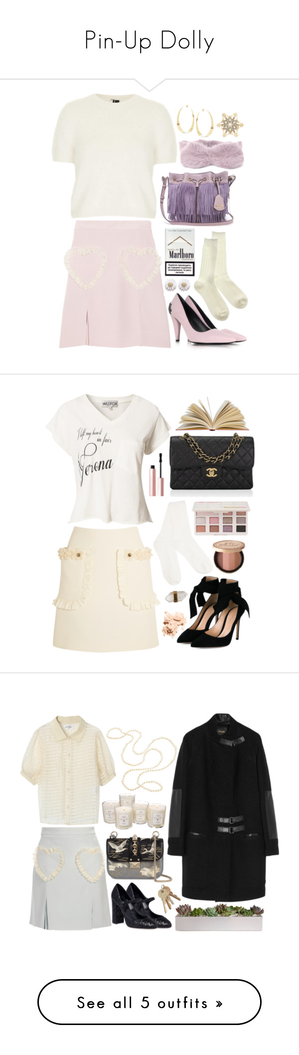 """""""Pin-Up Dolly"""" by natjulieta on Polyvore featuring moda, Meadham Kirchhoff, Topshop, Daisy Jewellery, McQ by Alexander McQueen, Lana, Charter Club, ootd, Larme y Coordinates"""