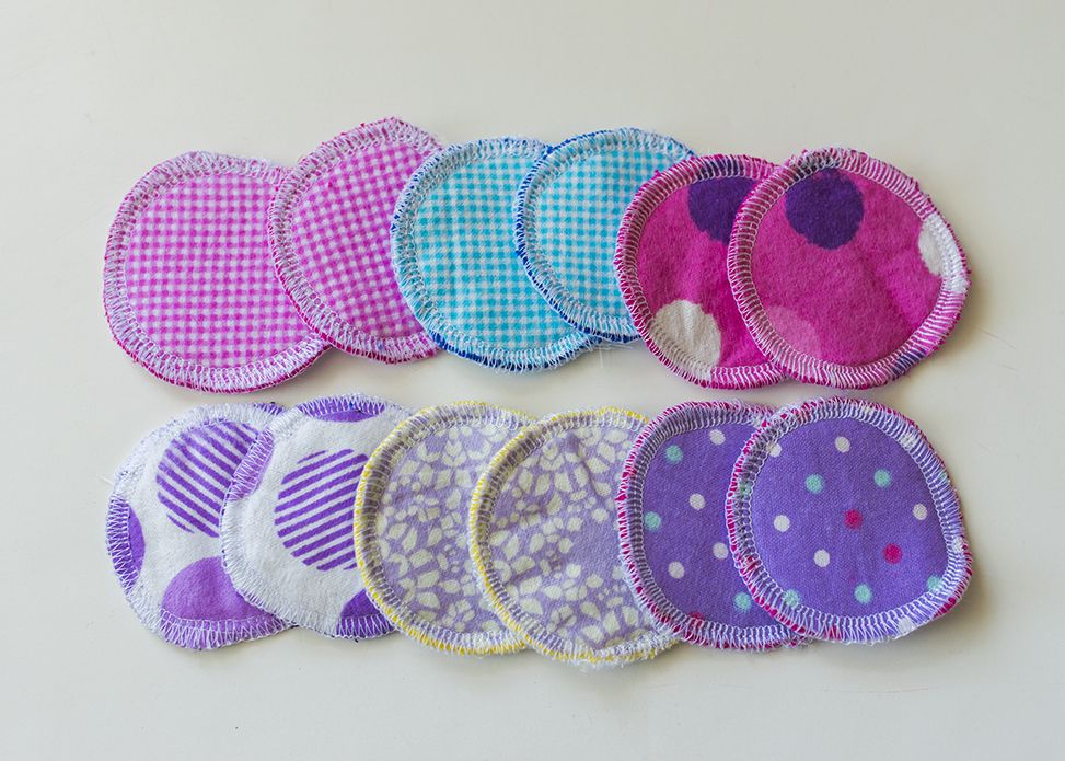 Make your own Reusable Face Pads Diy sewing projects