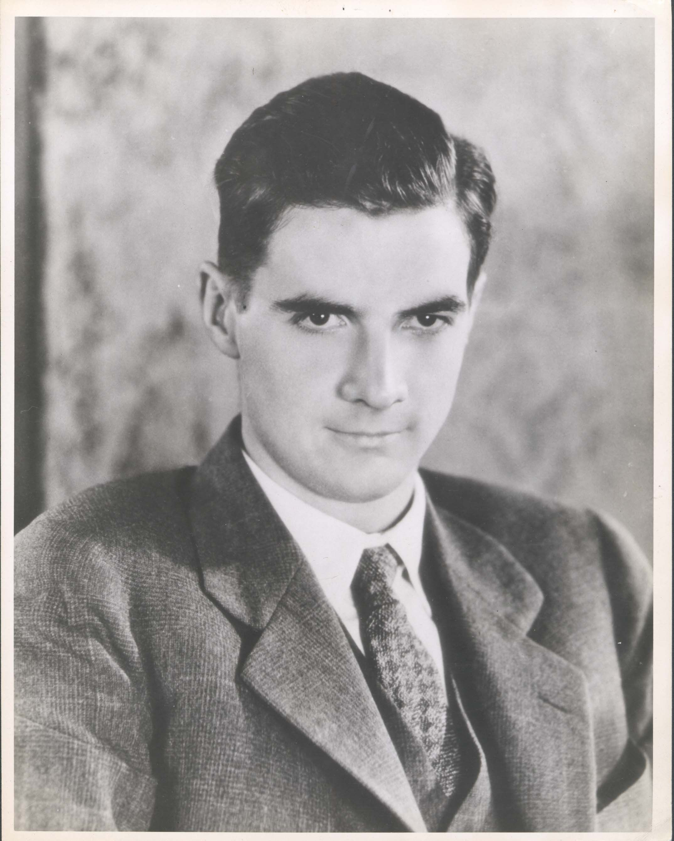 Howard Hughes Quotes: The Portrait Of A Young Howard Hughes Taken At The