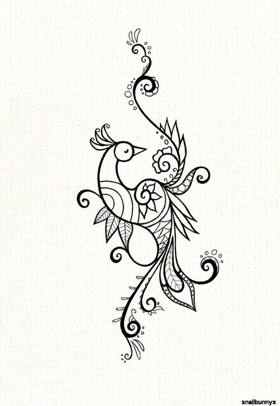 Peacock Design Henna Tattoo: Peacock Tattoo, Henna Designs