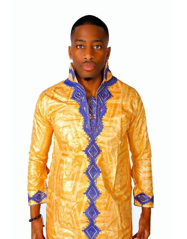 broderie senegalaise pour homme recherche google haut africain noir broderie or haut. Black Bedroom Furniture Sets. Home Design Ideas