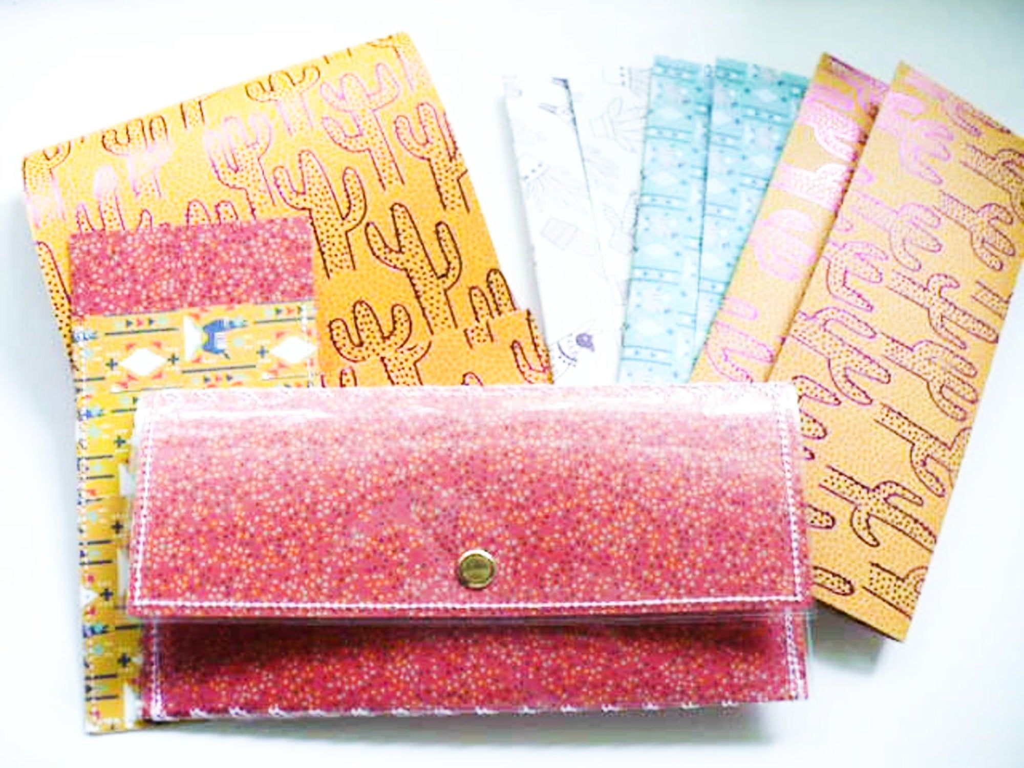Minimalist Wallet Cash Envelope System Gift For Women with