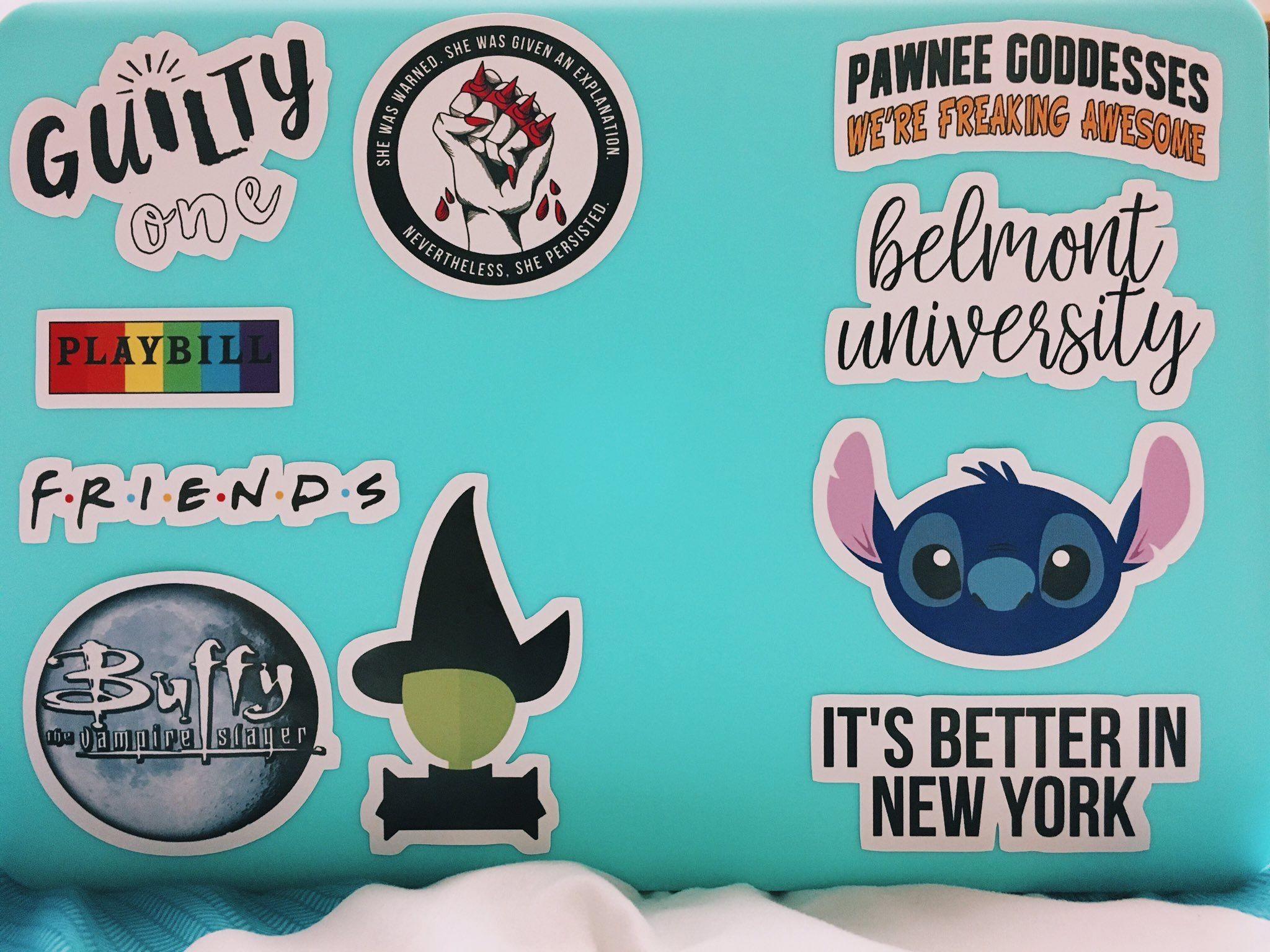 Caro Owens Designs Shop | Redbubble | Cute laptop stickers