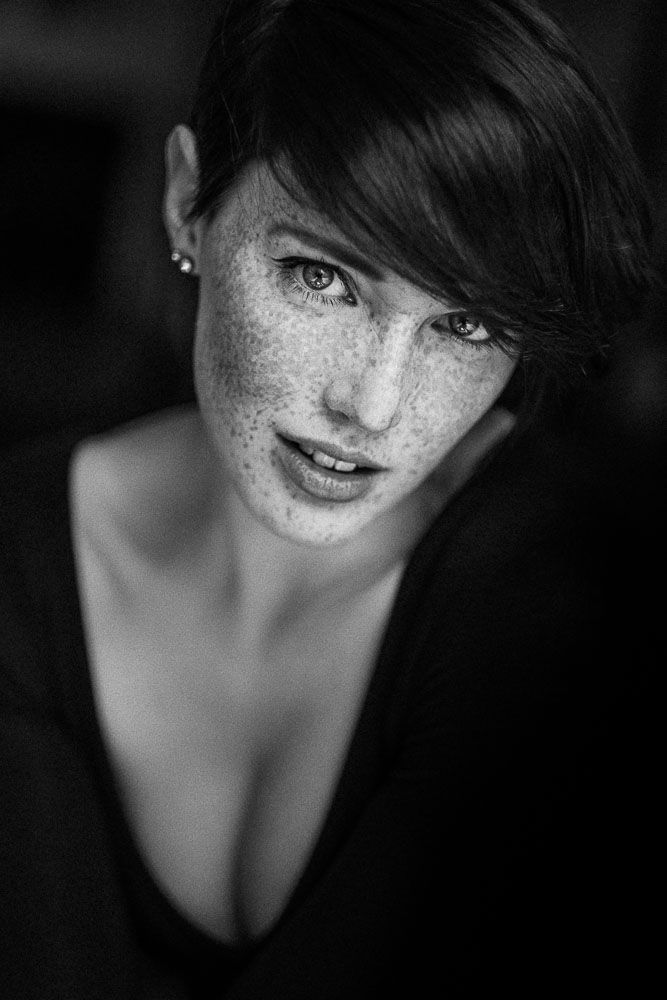 Andreas Jorns Black White Only Portrait Fotografie Ideen