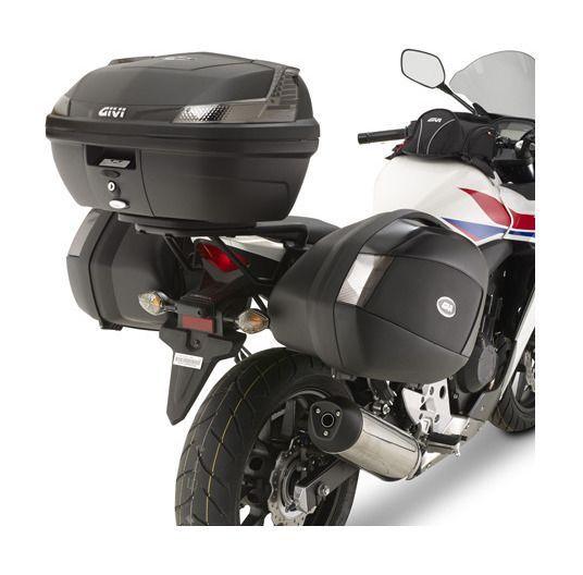 Givi Plx1119 V35 V37 Side Case Racks Honda Cb500f Cbr500r 2013 2017 10 24 70 Off Revzilla Honda Pannier Revzilla