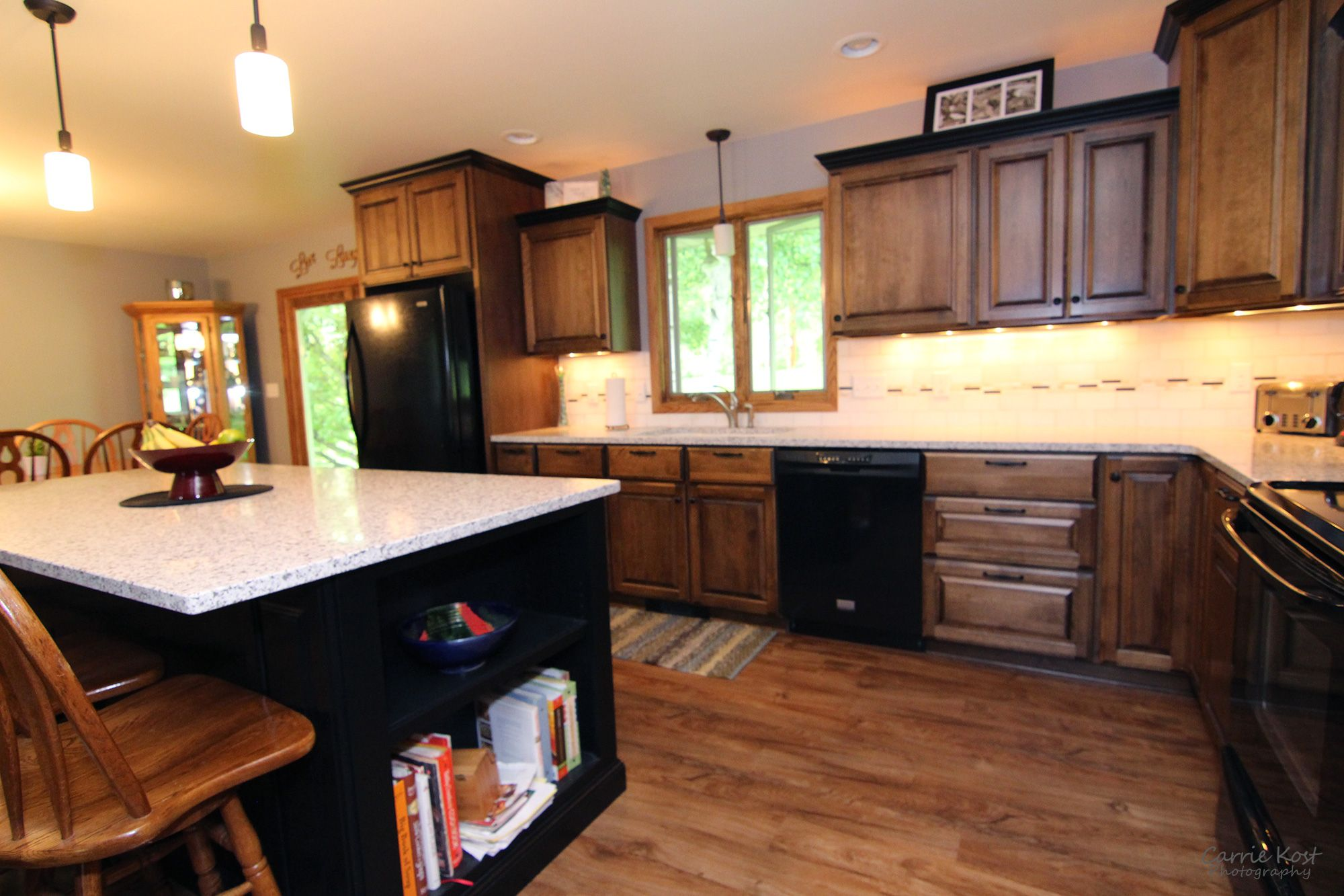 Complete Kitchen Remodel With Custom Cabinetry Quartz