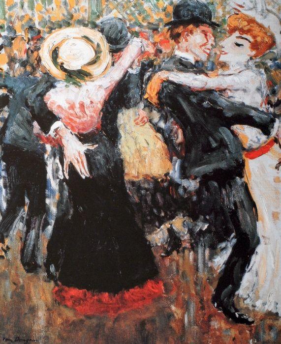 Le Bal du Moulin de la Galette. | Vans, Dancing and Paintings
