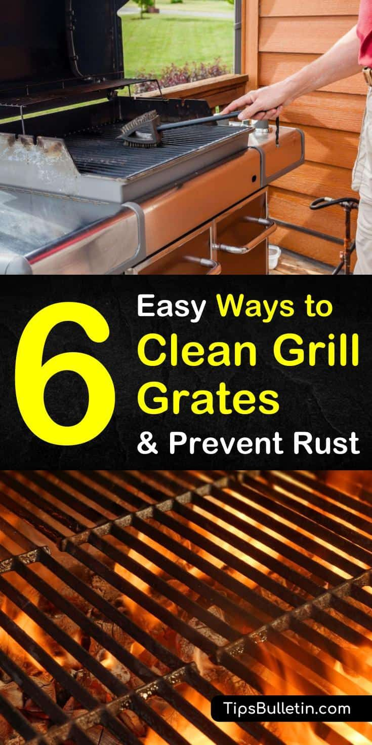 6 easy ways to clean grill grates and prevent rust clean