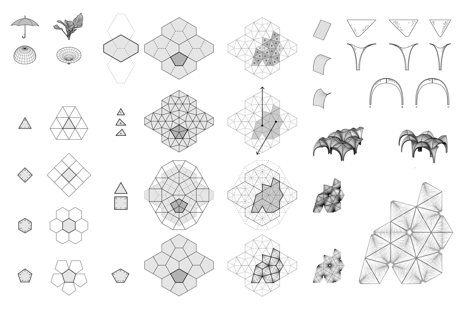 Geometry Diagrams Of Bhp Pavilion At Confluence Park