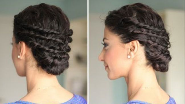 Stupendous 1000 Images About Prom Hairstyles On Pinterest Naturally Curly Hairstyles For Men Maxibearus