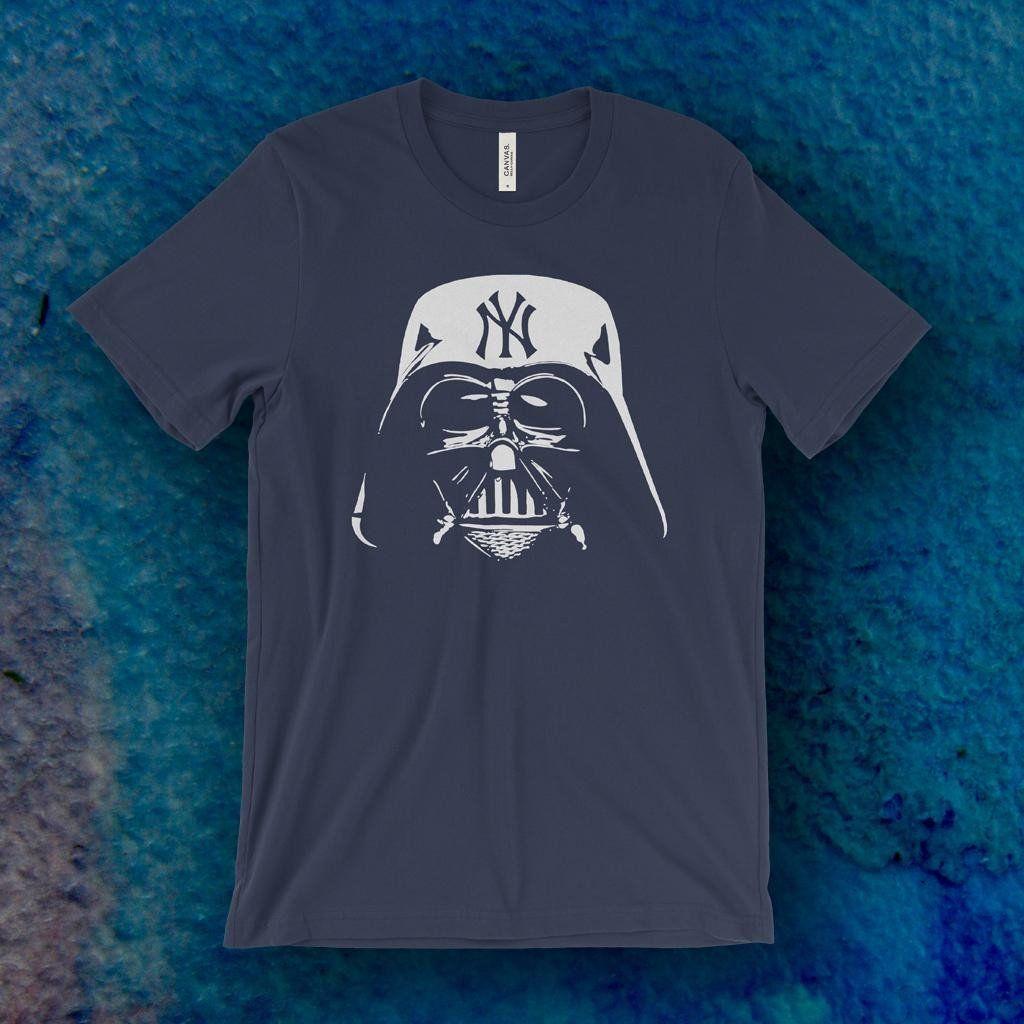 Evil Empire Darth Vader Ny Yankees T Shirt Yankees T Shirt Evil Empire Ny Yankees