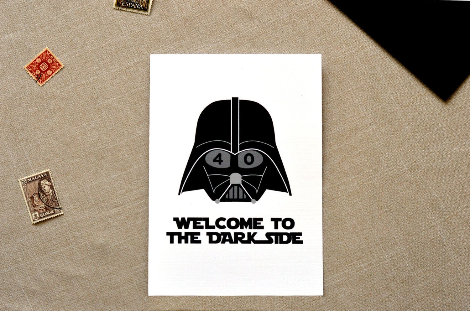 Star Wars Birthday Greeting Free ~ Star wars birthday card birthday cards funny 30th birthday