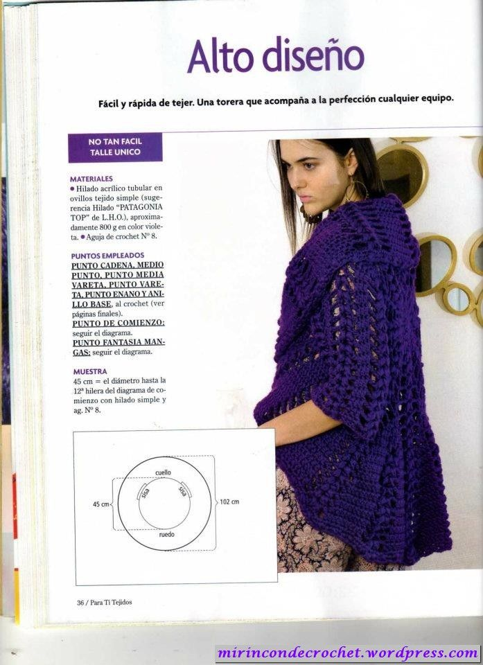 Si..Si….otro circular!!!! | labores | Pinterest | Croché, Ganchillo ...