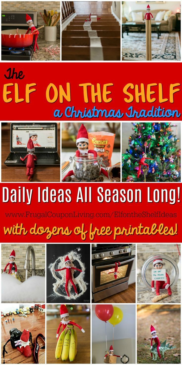Elf on the Shelf Ideas and Free Printables Elf on the