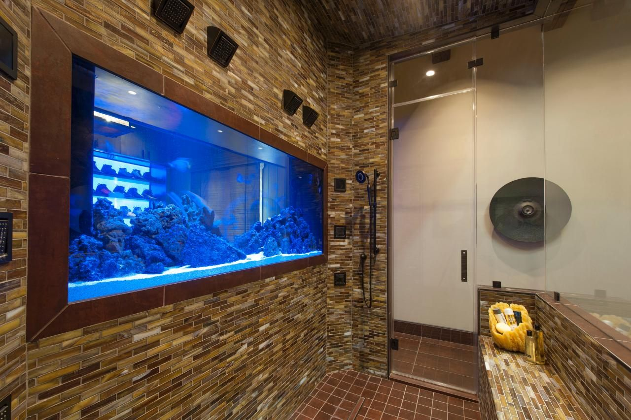 designer angelica henry talks one of a kind custom design - Fish Tank Designs My Home