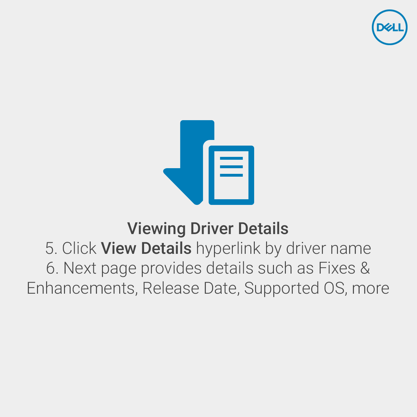 Viewing Driver Compatibility Details On Www Dell Com Support Supportive Success Stories Solutions