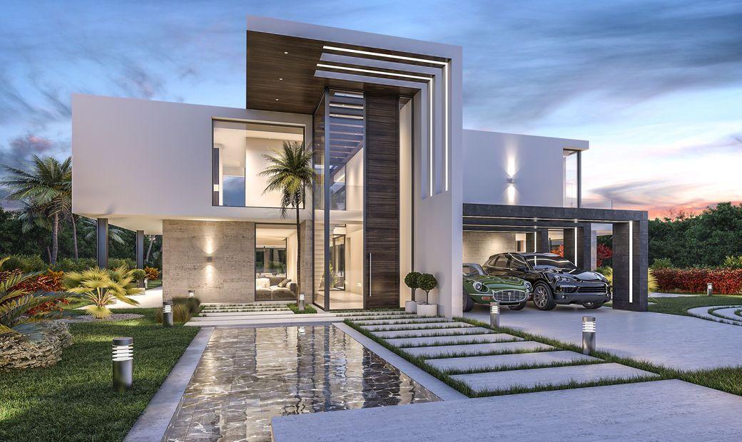 New Modern Luxury Villa project in Marbella, Spain. in