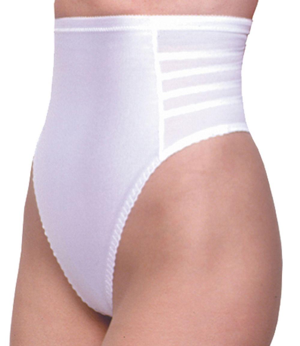 2720dcc9bdd Rago Foundations LLC High Waist Thong White  OyaBodywear