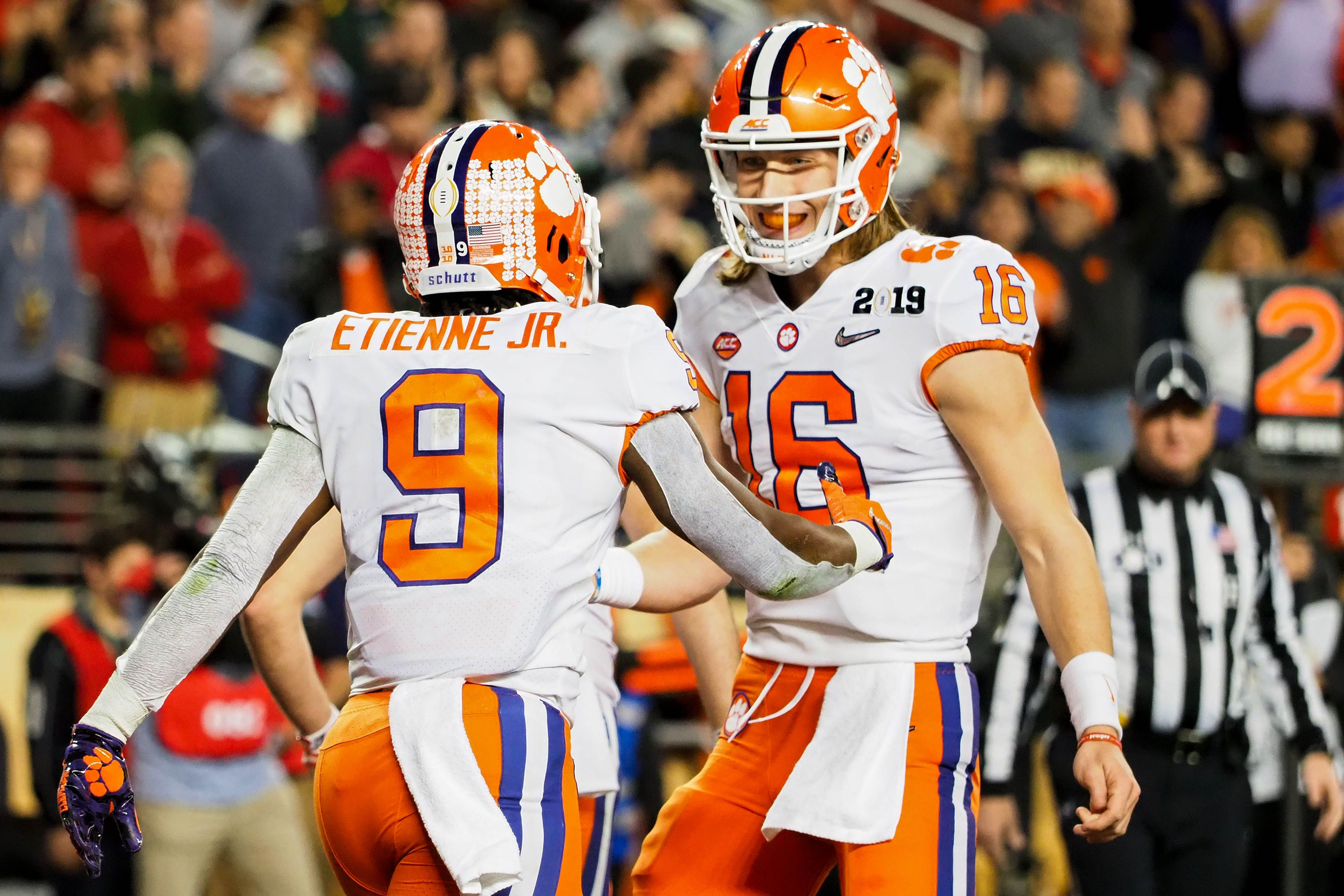 With Trevor Lawrence and more Clemson will remain among