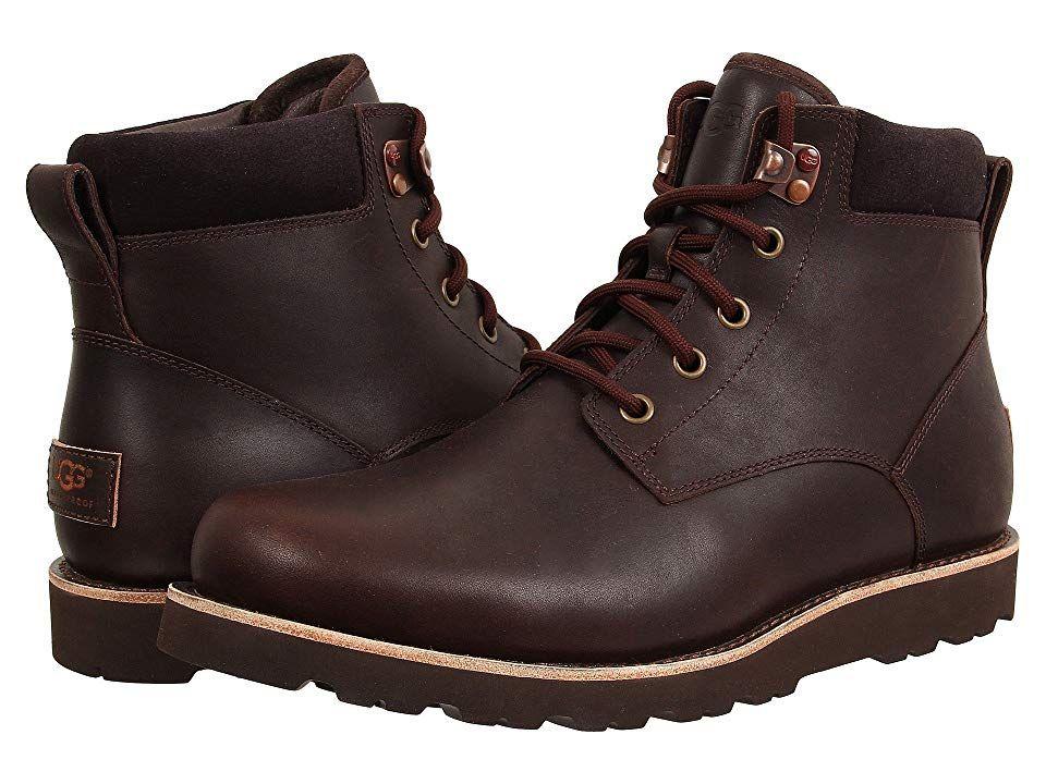 Ugg Seton Tl Men S Lace Up Casual Shoes Stout Leather