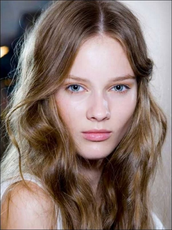 Hair Skin Color Brown Eyes Light And Medium