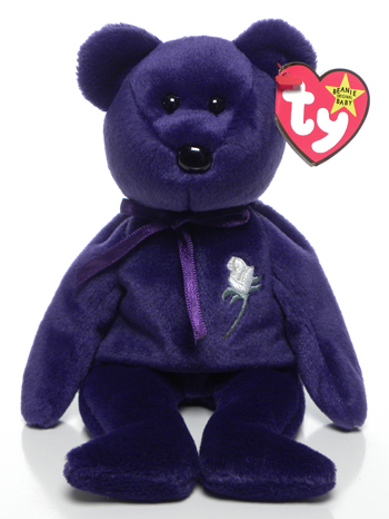 Princess Ty Beanie Babies commemorative bear in 2020