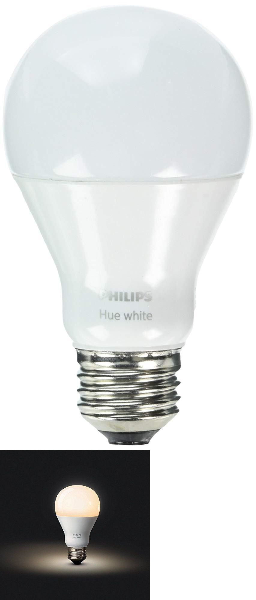 Buy Lightbulbs Light Bulbs 20706 Philips Hue White A19 Single Led Bulb Works