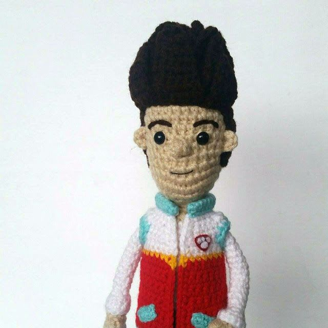 A [mi] dorable ganchillo: Patrón Ryder | Amigurumi | Pinterest ...