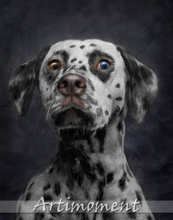 Custom Portrait Custom Pet Portrait Custom Dog Portrait - Game of thrones pet paintings