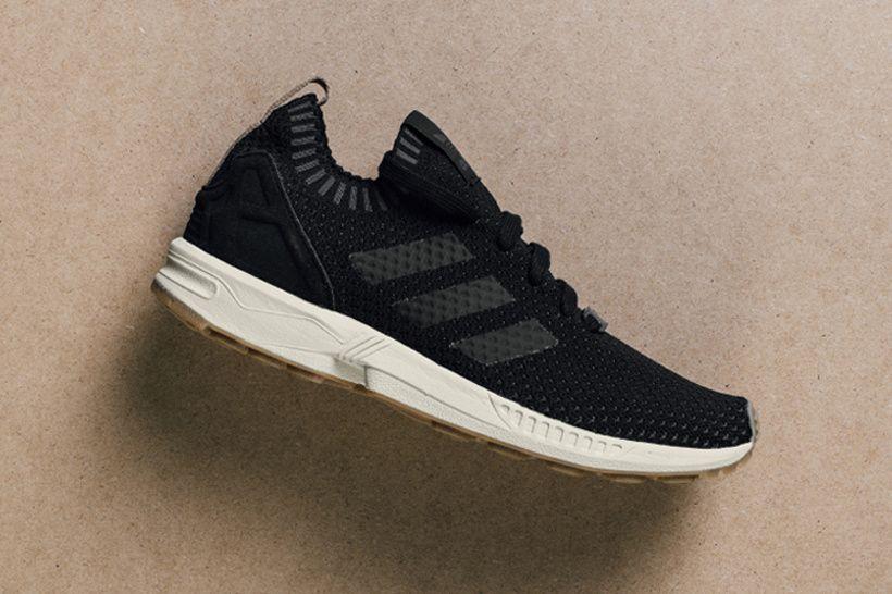 Te mejorarás vergüenza Ortografía  adidas Originals Drops the ZX Flux Primeknit in Core Black   Adidas zx flux,  Sneaker magazine, Sneakers