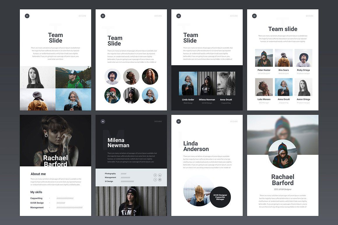 A4 Desire Powerpoint Template Powerpoint Templates Keynote