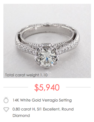 Average Engagement Ring Cost 2016 Engagement Ring Primer Engagement Ring Cost Real Engagement Rings Engagement Rings