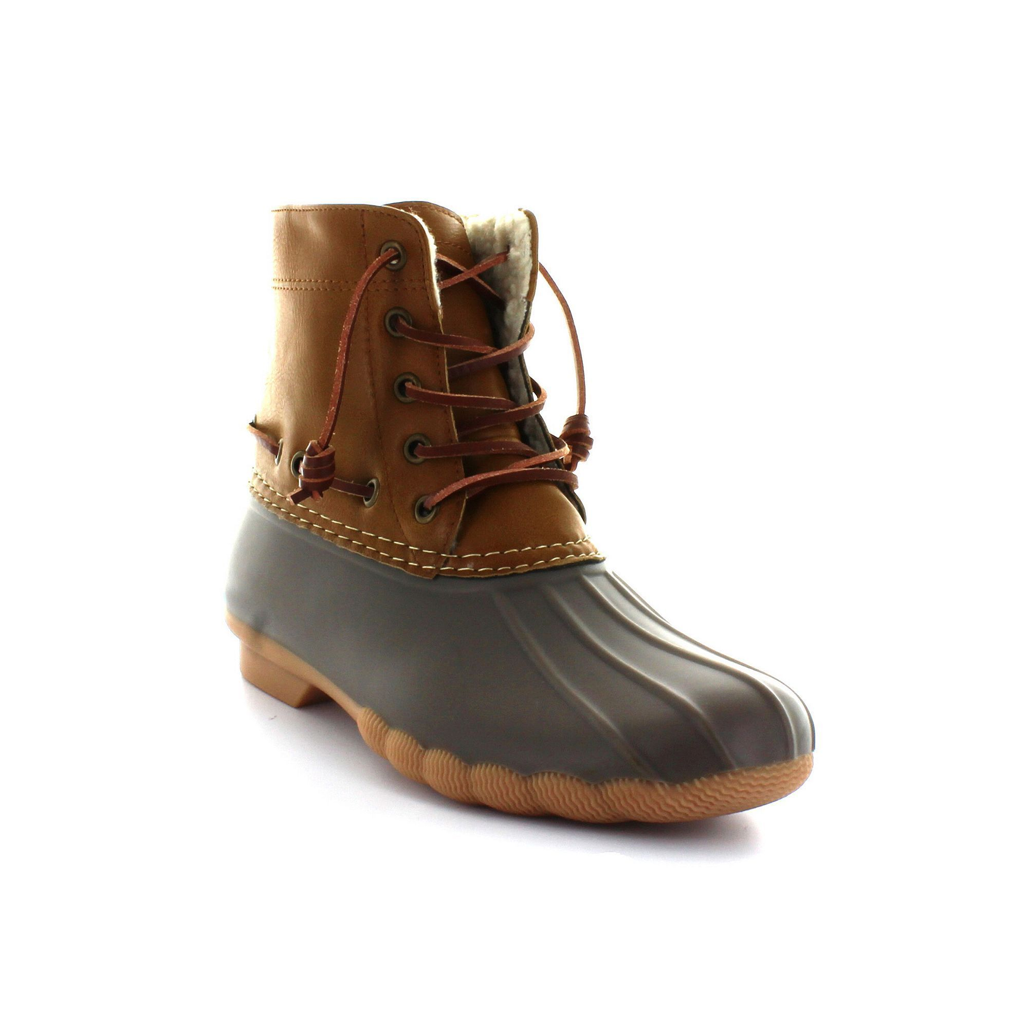 Duck Boot Brown Womens Boots | Boots