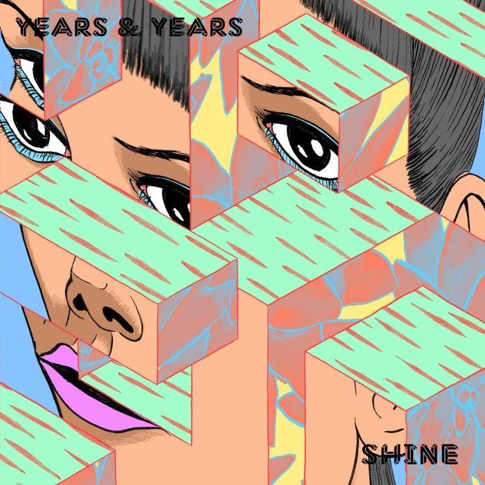 Years & Years – Shine (single cover art)