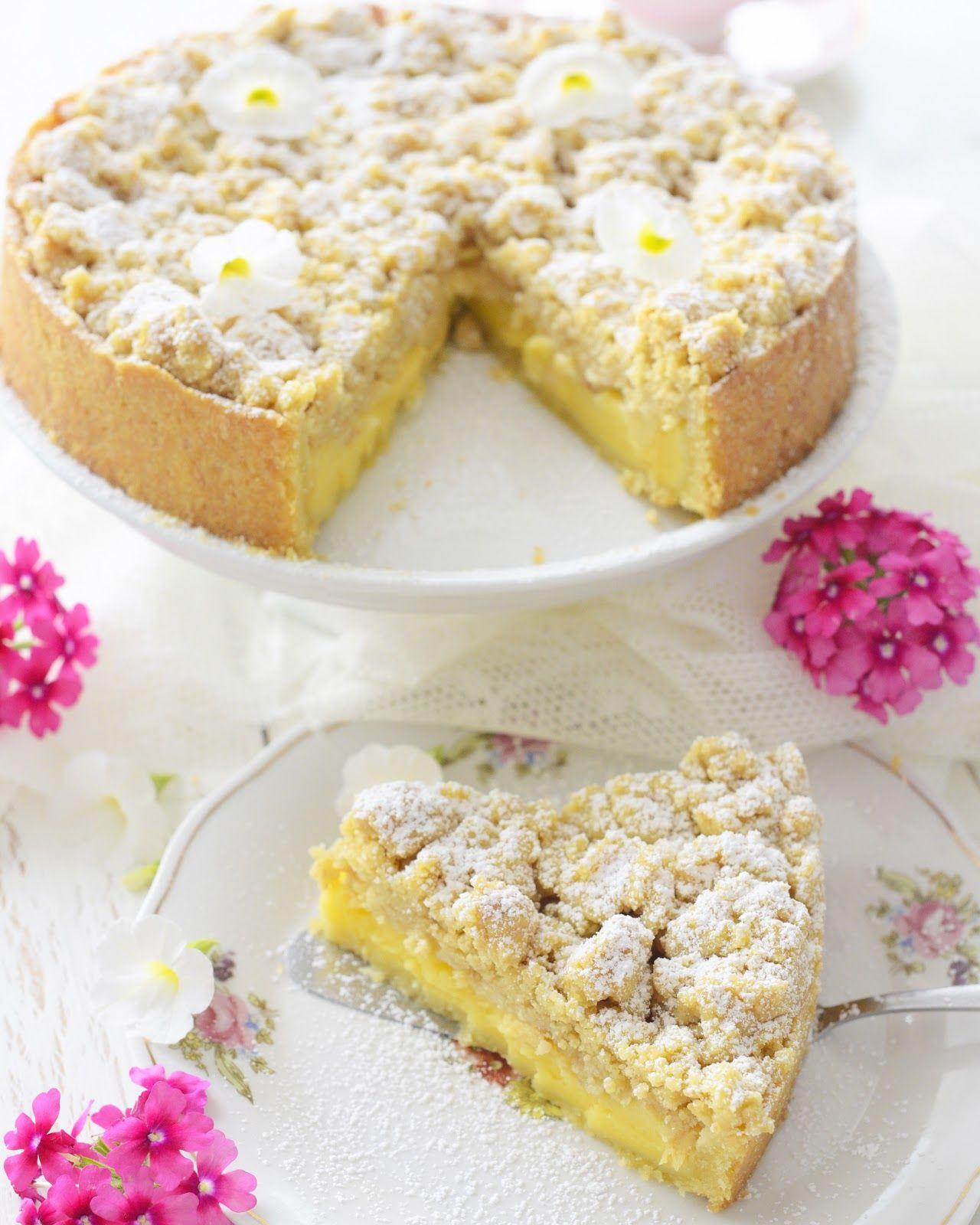 Kessy's Pink Sugar: Apfel Streuselkuchen mit Vanillepudding - Klassiker Kinderkuchen #applechips