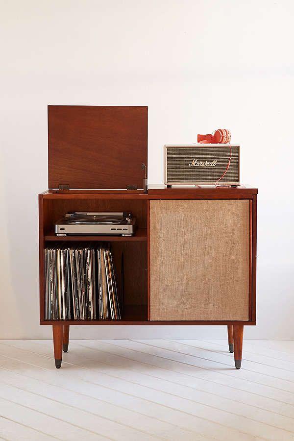 Draper Media Console Home Retro Home Decor Furniture