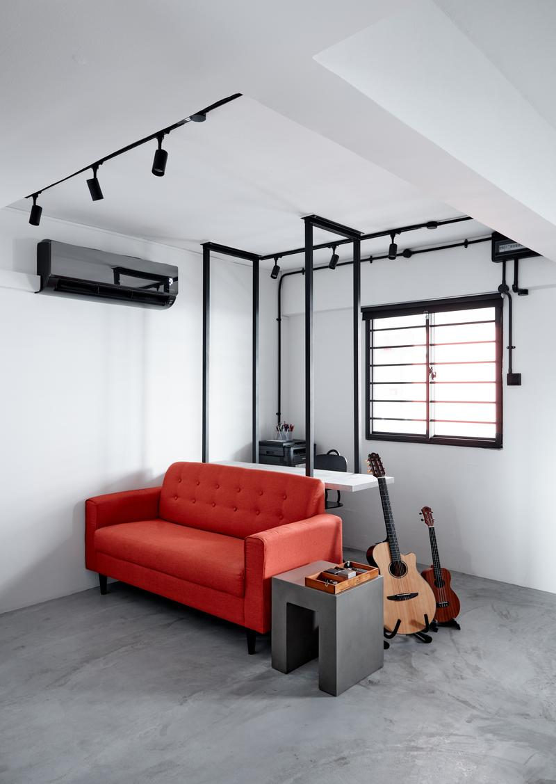 Renovation Ideas For 4a Hdb Living Room: Pin On HDB Interior Designs