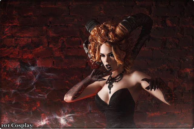 Dark succubus from Ellina Muller.