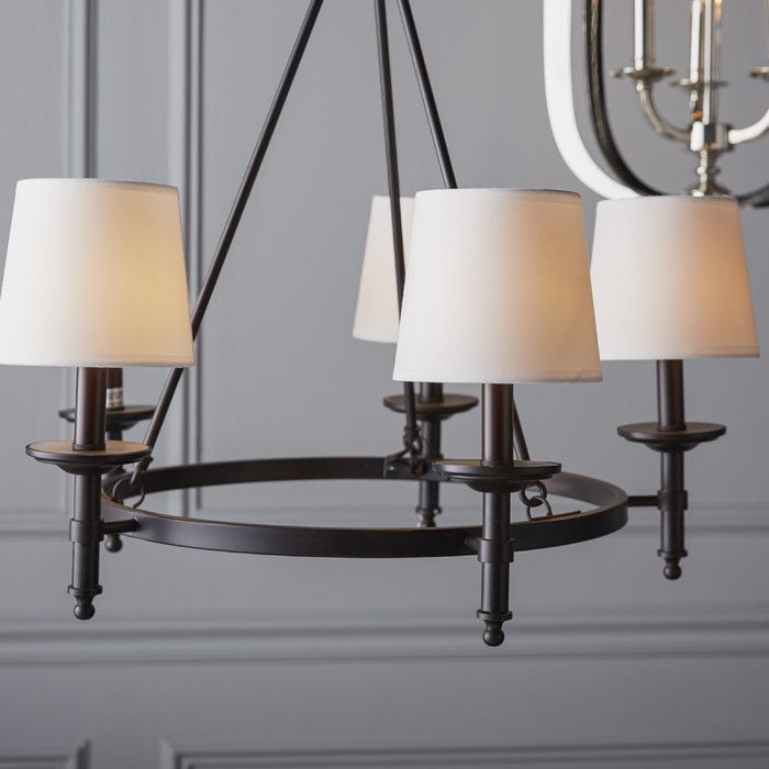 Birch lane glastonbury 5 light shaded chandelier reviews birch lane