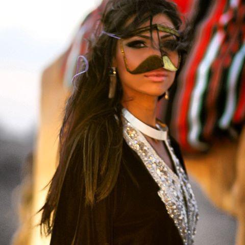The Traditional Emirati Burqa Hashtag Hijab Arabian Beauty Women Arabian Women Arab Women
