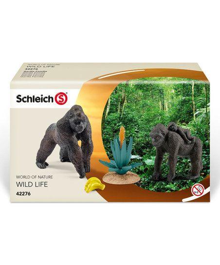 Wild Life Gorilla Family Schleich 42276