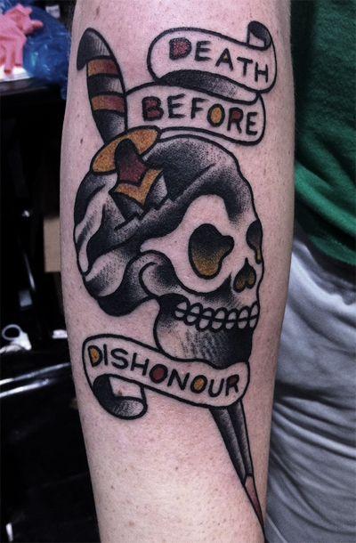 Old School Tattoo Tattoos Military Tattoos Dishonored Tattoo