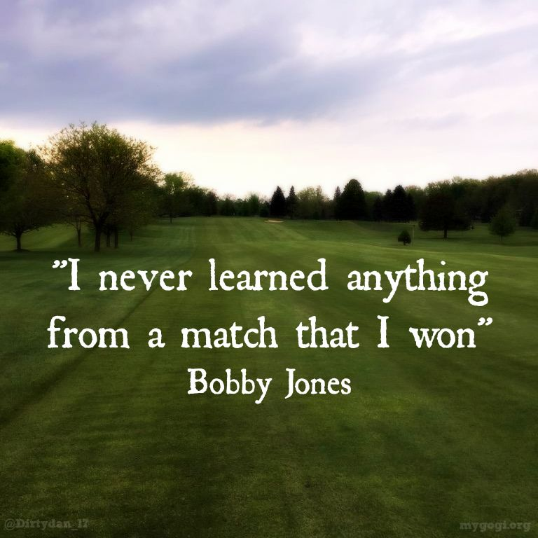 With Every Failure Comes A Lesson GolfSwagPic From Dirtydan60 New Golf And Life Quotes