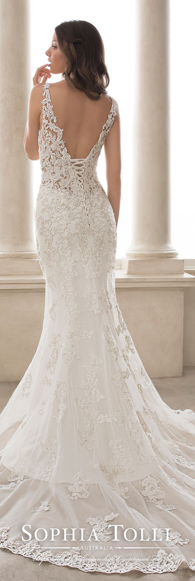 9a1fa7e471d Sophia Tolli Y21817 Turquoise. Sophia Tolli Y21817 Turquoise Wedding Dresses  ...
