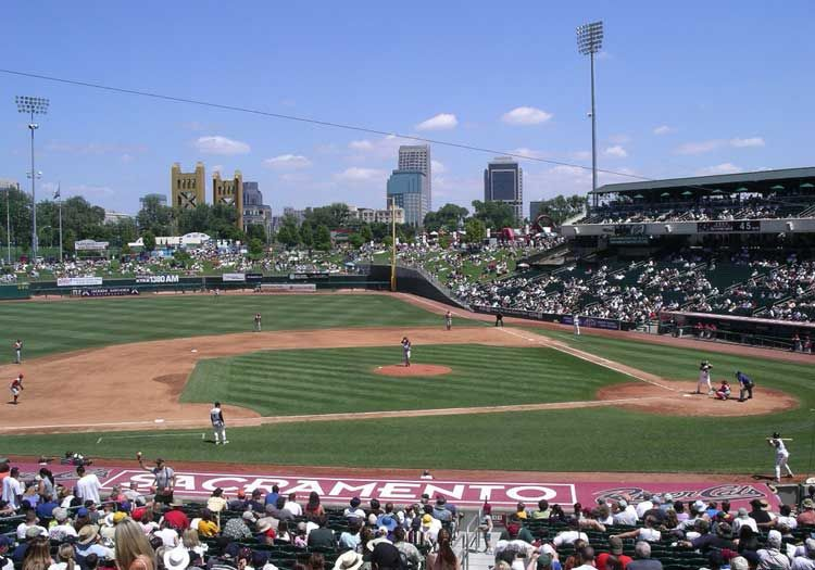 Raley Field Sacramento River Cats Ballparks Sacramento River Baseball Stadium